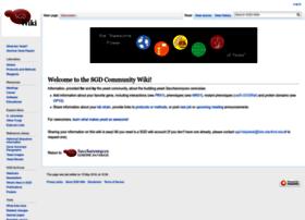 wiki.yeastgenome.org