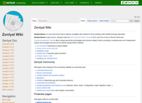 wiki.zentyal.org
