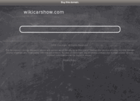 wikicarshow.com