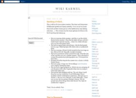 wikikarmel.blogspot.nl