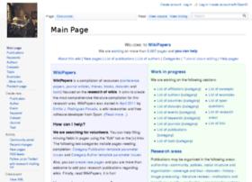 wikipapers.referata.com