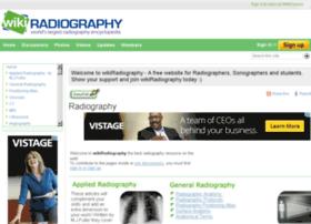 wikiradiography.net