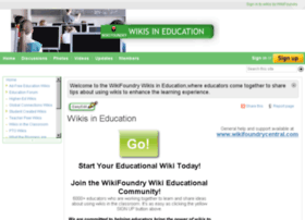 wikisineducation.wikifoundry.com
