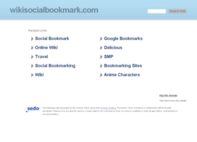 wikisocialbookmark.com