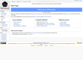 wikiwrimo.org