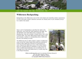 wildernessbackpacking.com