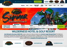 wildernessresort.com