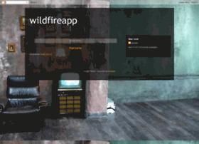 wildfireapp.blogspot.com