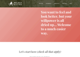 wildlyaliveweightloss.com