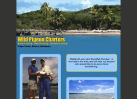 wildpigeoncharters.com