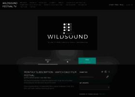 wildsoundfestival.com