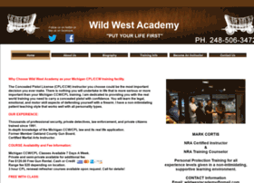 wildwestacademy.com