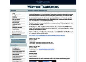 wildwood.toastmastersclubs.org