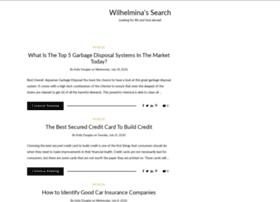wilhelminamodelsearch.com