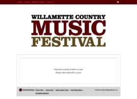 willamettemusicfest.frontgatetickets.com