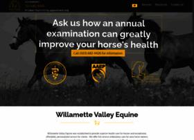 willamettevalleyequine.com