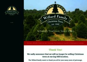 willardchristmastrees.com