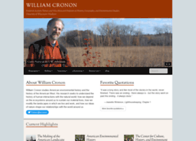 williamcronon.net