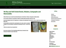 williamroberts-cricket.com