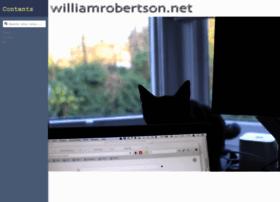williamrobertson.net