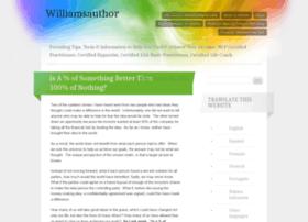 williamsauthor.wordpress.com