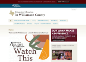 williamson.agrilife.org