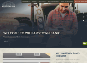 williamstownbank.com