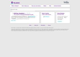 willis.teladoc.com