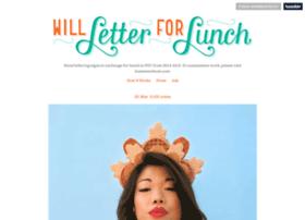 willletterforlunch.com