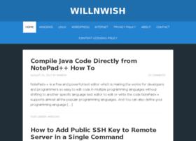 willnwish.com