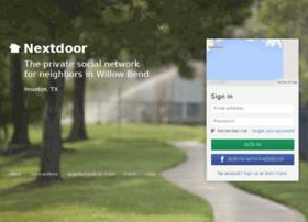 willowbendhouston.nextdoor.com