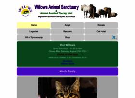 willowsanimals.com