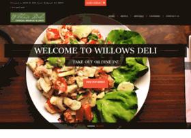 willowsdeli.com