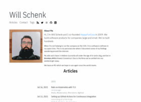 willschenk.com