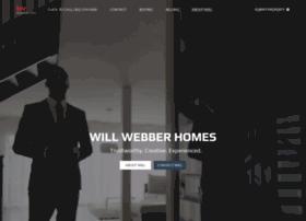 willwebberhomes.com