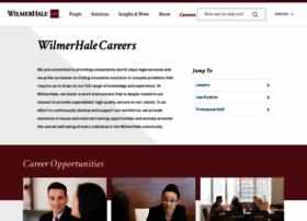 wilmerhalecareers.com
