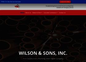 wilsonandsonsinc.com