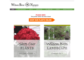 wilsonbrosnursery.com