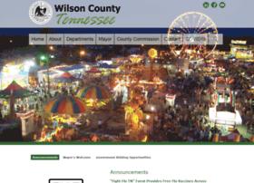 wilsoncountytn.com
