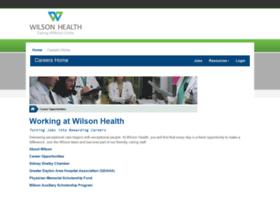 wilsonhospital.hirecentric.com