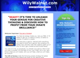 wilywalnut.com