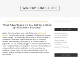 window-blinds-guide.org