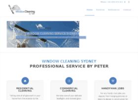 windowcleaningbypeter.com.au