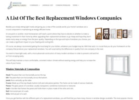 windowmanufacturers.net