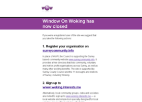 windowonwoking.org.uk