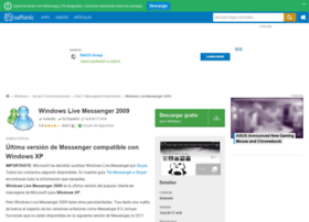 windows-live-messenger-2009.softonic.com