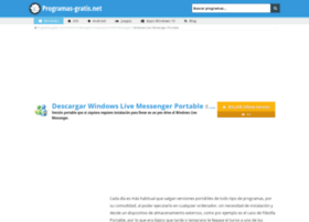 windows-live-messenger-portable.programas-gratis.net
