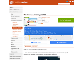 windows-live-messenger.programasgratis.es
