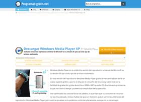 windows-media-player-xp.programas-gratis.net