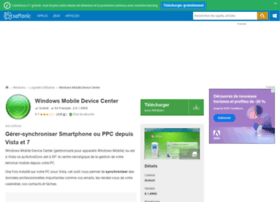 windows-mobile-device-center.softonic.fr